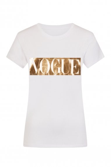 Gold Vogue T-Shirt