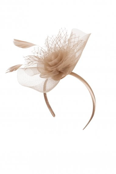 Champagne Gold Fascinator