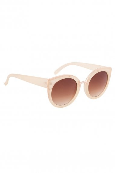 Tyra Retro Sunglasses In Pink