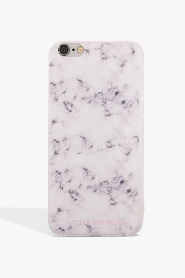 Grey Marbled Case Iphone 7