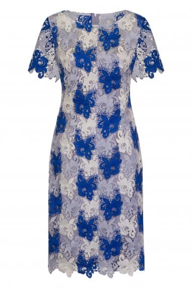 Avignon Multi Crochet Lace Dress