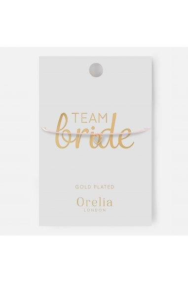 Orelia Team Bride Open Heart Bracelet