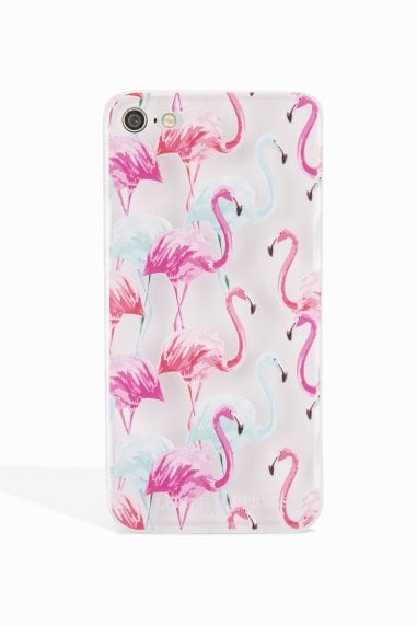 Pink and Blue Flamingo Case Iphone 7