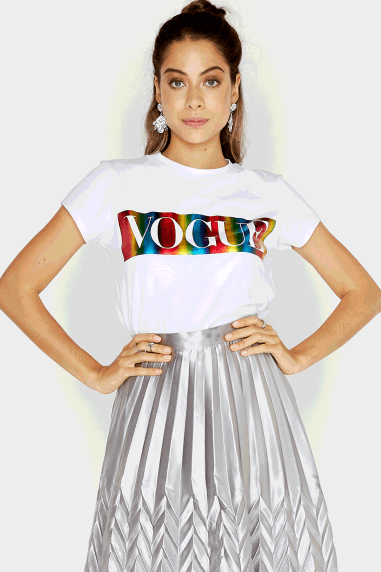 Rainbow Vogue T-Shirt