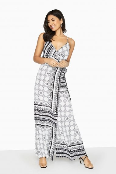 Marcos Cami Maxi Dress In Boho Print