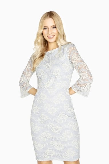Beauvais Contrast Lace Dress