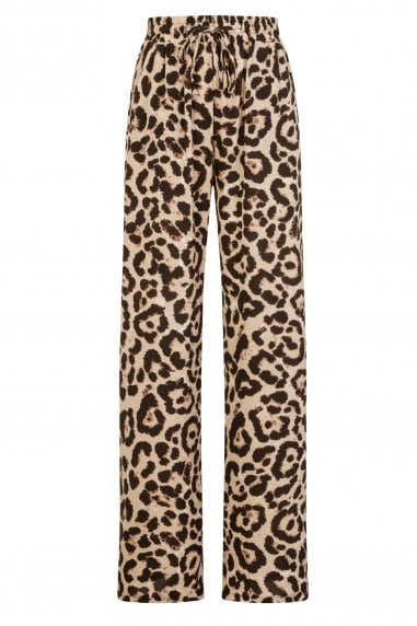 Sahara Trousers In Leopard Print