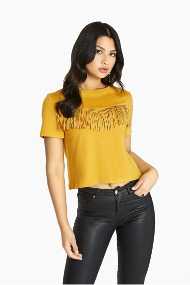 Rockferry Fringed T-Shirt