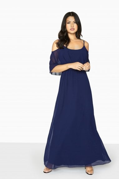 Motion Cold Shoulder Maxi