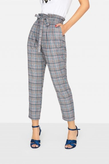 Avenue Check Trousers