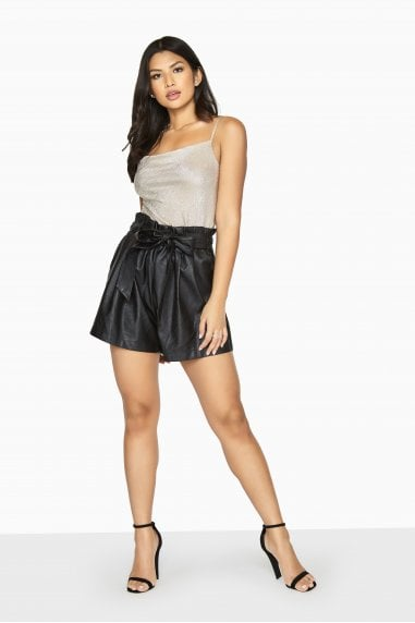 Discovery Leather Shorts