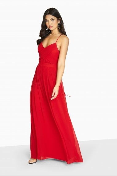 Endlessly Chiffon Maxi Dress