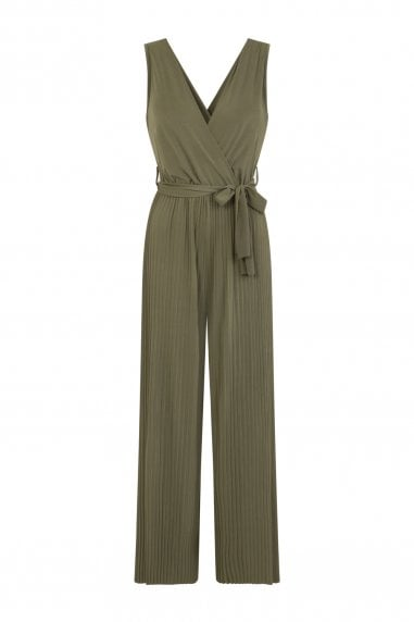 Eden Pleat Jumpsuit