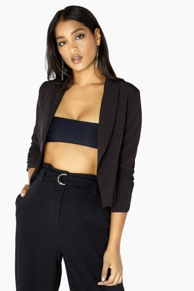 Crop Blazer Co-Ord