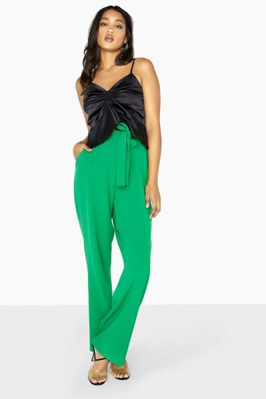 Green Wide Leg Trouser Co-Ord