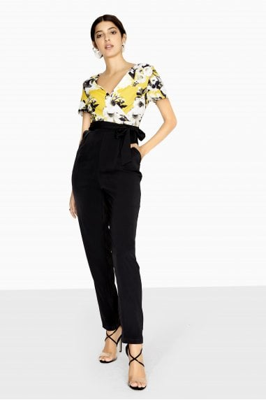 Jervis Jumpsuit With Floral Top