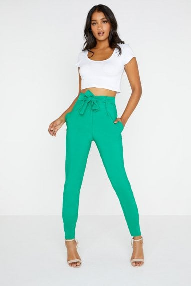 Pea Green Trouser