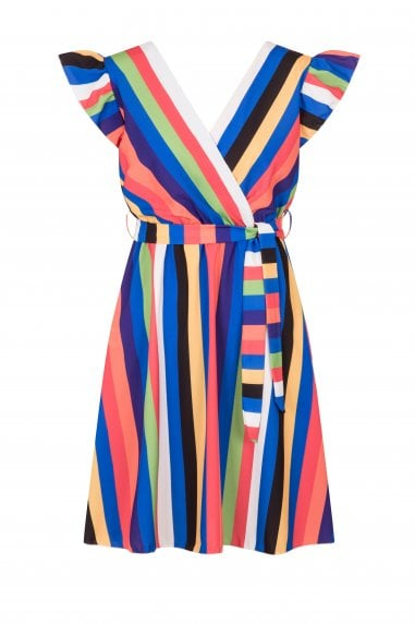 Fowler Bold Stripe Summer Dress