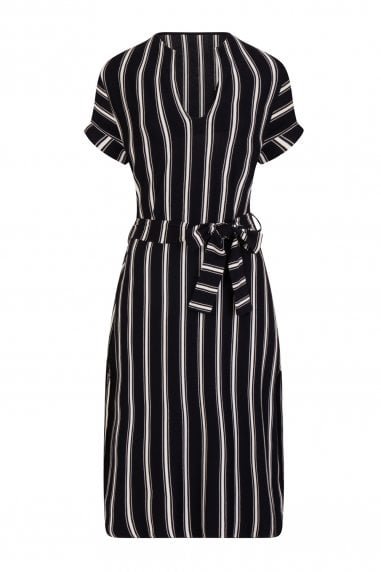 Aggero Stripe Midi Dress