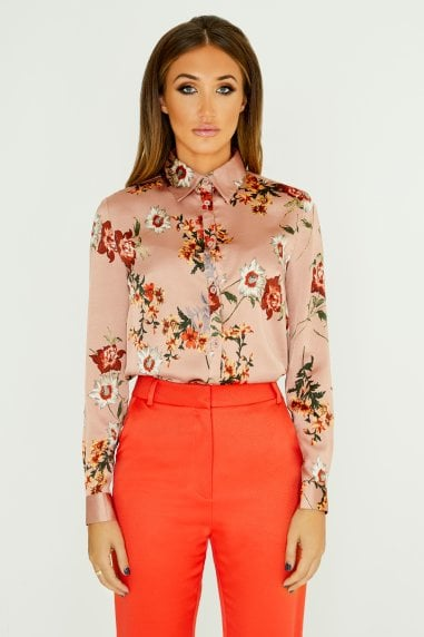 Classic Shirt In Floral Print