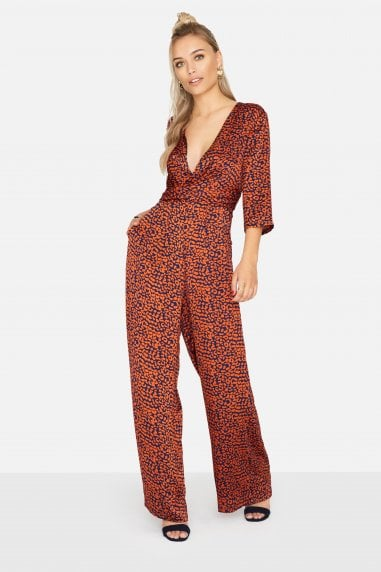 Sala Jumpsuit In Leopard