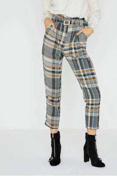 Trix Check Plaid Trouser