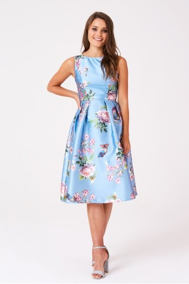 Molly Skater Prom Dress In Vintage Floral