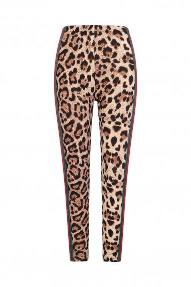 Power Leggings In Leopard