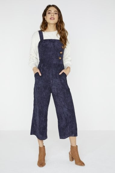 Reuben Corduroy Button Jumpsuit