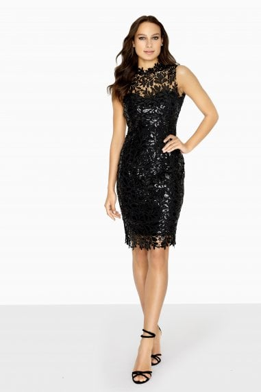 Arna Baroque Sequin Dress
