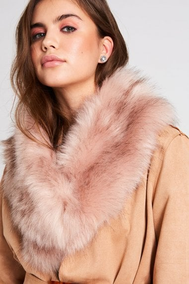 Mink Fur Stole Collar