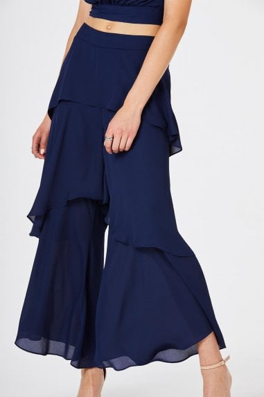 Phoenix Layered Culotte Trousers