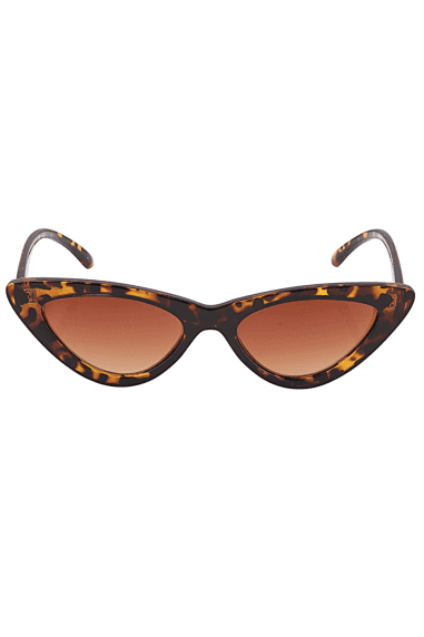 Mini Cat Eye Sunglasses In Tortoiseshell