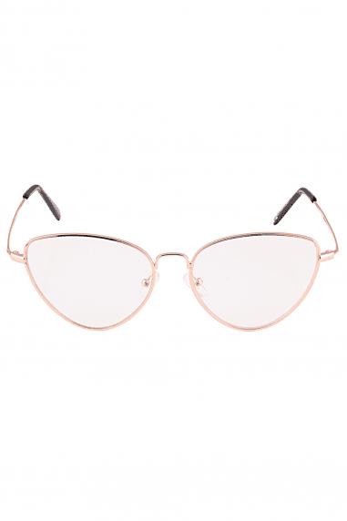 5e29b64c0269b Rose Gold Reader Fashion Glasses ...