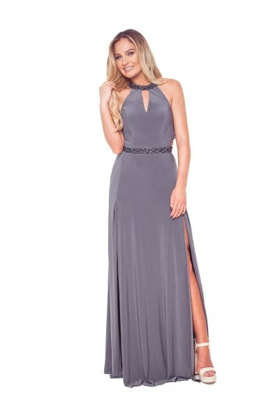 Lamia Pewter Maxi Dress