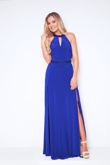 Lamia Royal Blue Maxi Dress