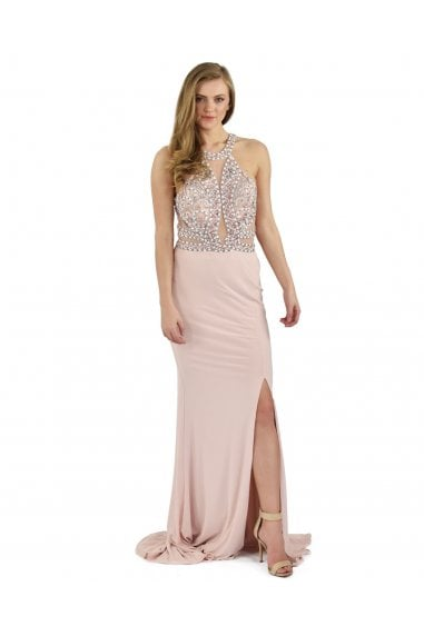 Ayita Blush Maxi Dress