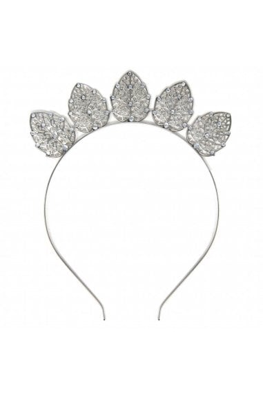 Silver Metal Crown Headband