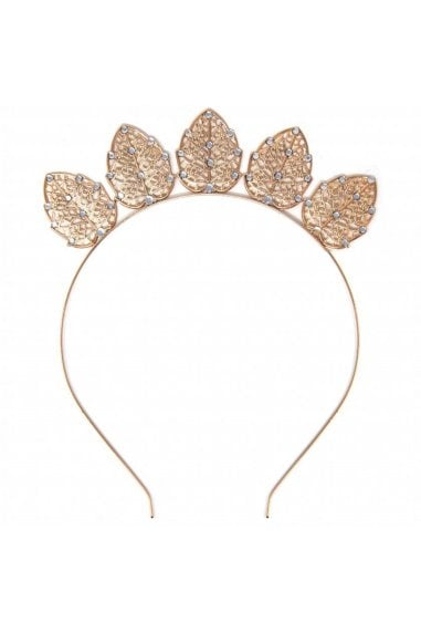 Gold Metal Crown Headband