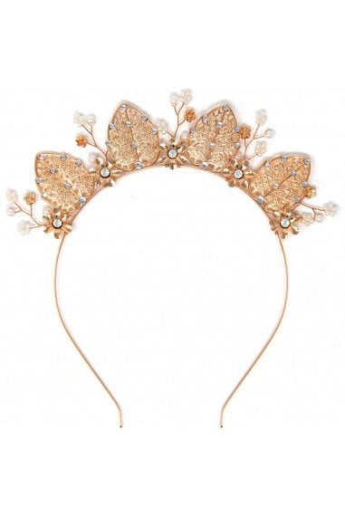 Gold Occasion Crown Headband