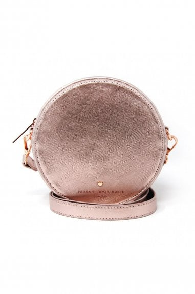 Rose Gold Circle Bag