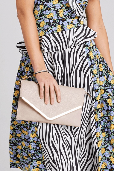 Nude Envelope Clutch