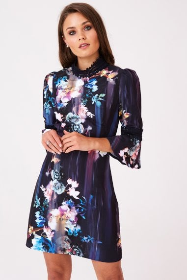 Viola Floral Shift Dress