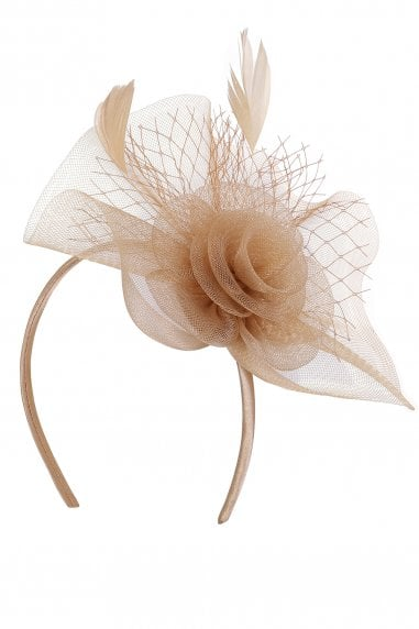 Champagne Fascinator Headband