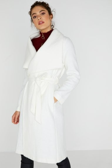 Abbott Cream Wrap Coat