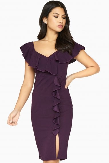 Silhouette Ruffle Dress