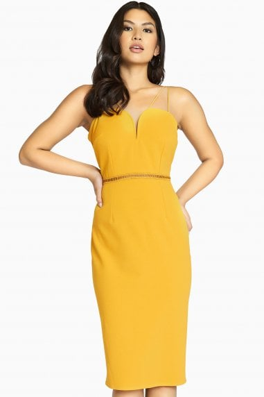 Midas Touch Sweetheart Dress