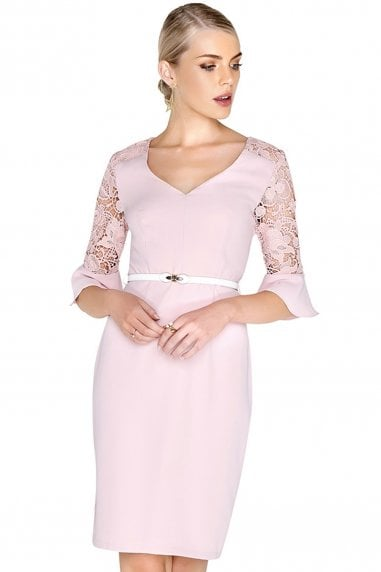 Blossom Fluted Dress