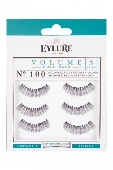 Eylure Volume No. 100 Lashes Multipack