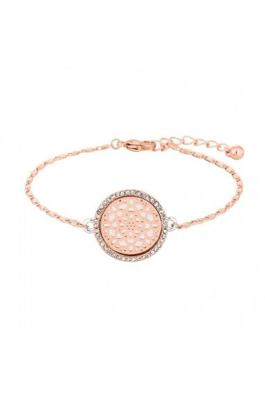 Multi Tone Filigree Disc Bracelet